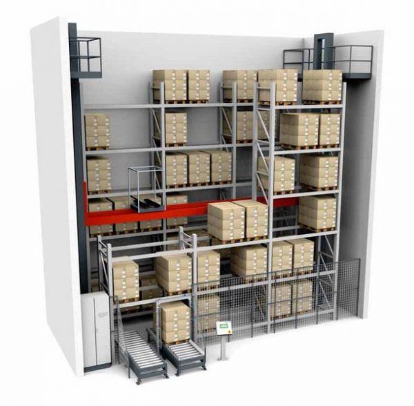 MTower - автоматизированная система хранения поддонов с подъёмной балкой
